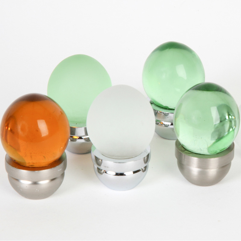 Acorn Glass Knobs
