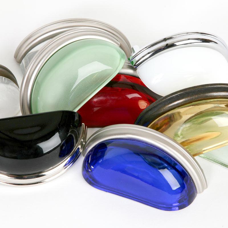 Glass Bin Pulls