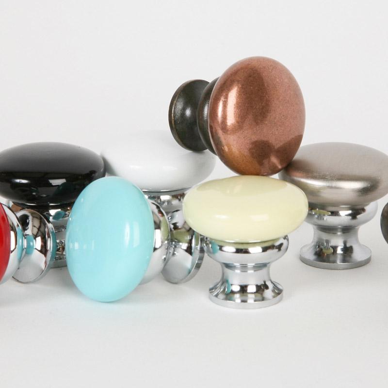 Metal Mushroom Knobs