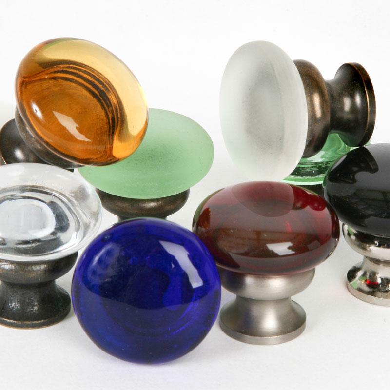 Glass Mushroom Knobs