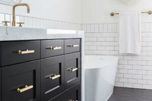 Haven - Classic Black & White Bathroom